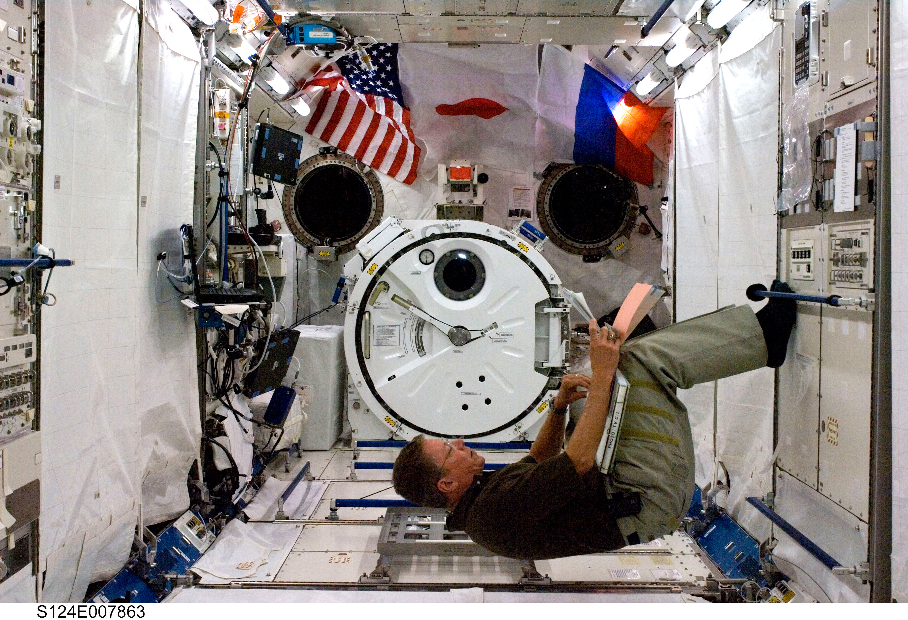 inside space station bed - photo #3