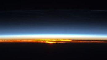 sunrise from international space station - photo #47