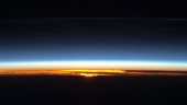Orbital sunrise over Asia seen from the ISS