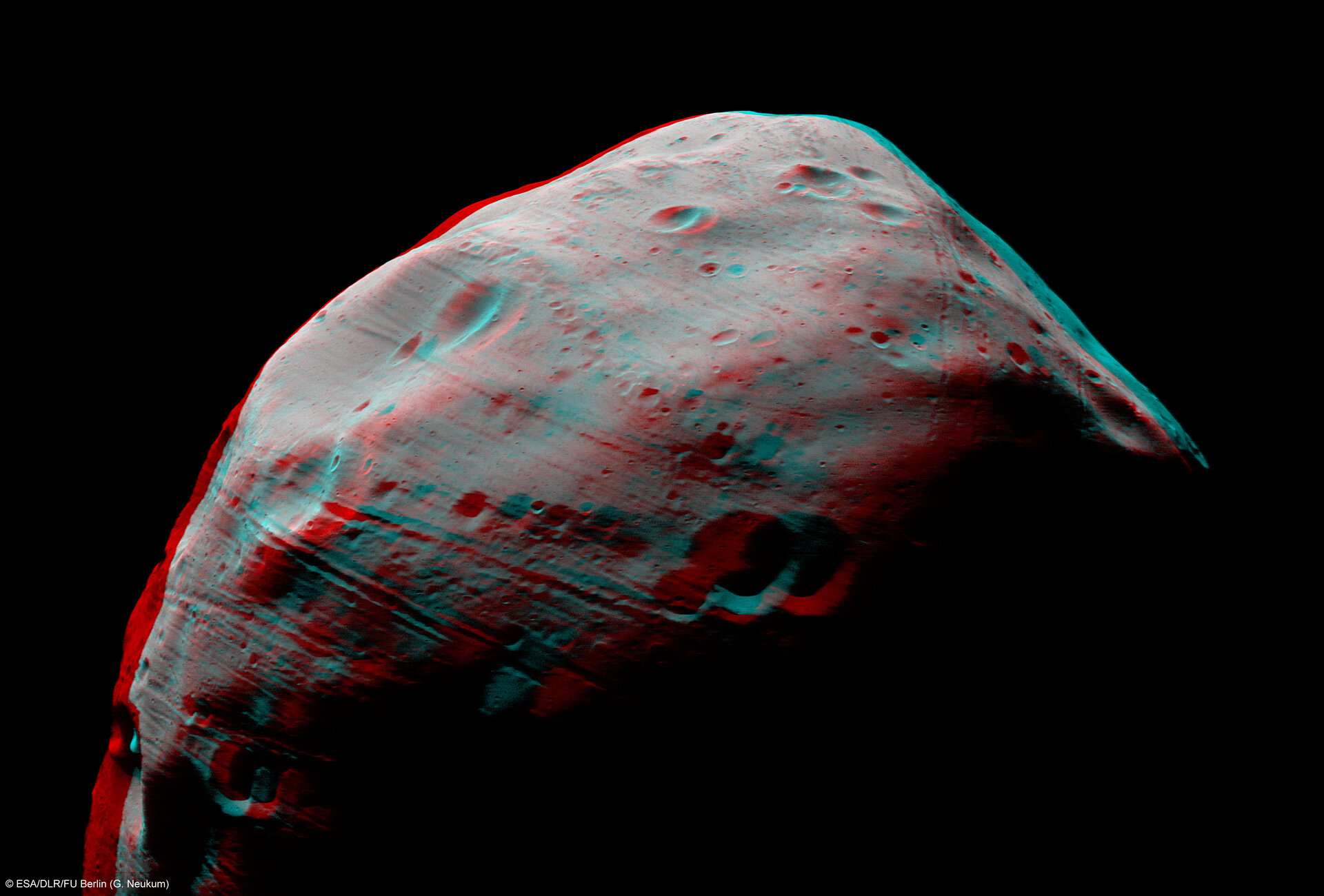 Phobos in 3-D
