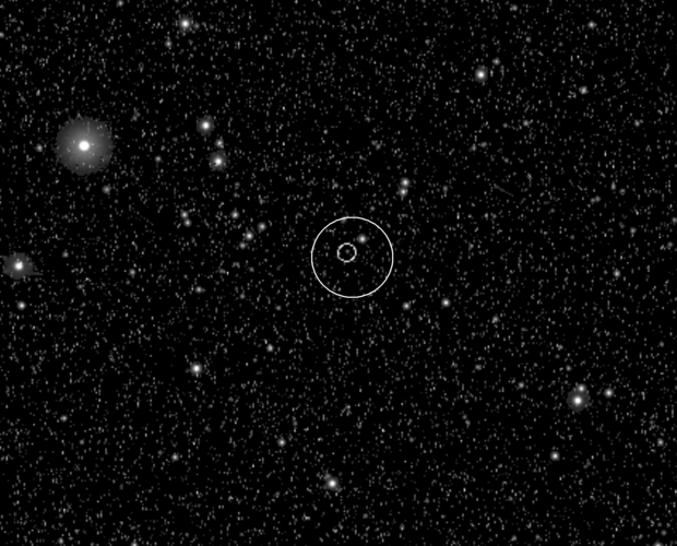 Asteroid Steins seen by Rosetta's Navigation Camera