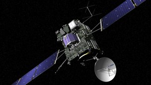 Rosetta spacecraft is operated by teams at ESA's European Space Operations Centre, Darmstadt, Germany