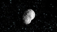 Artist's impression of asteroid (2867) Steins