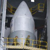 Close-up of the Rockot fairing