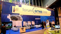 GMES exhibition stand