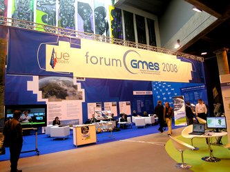European GMES exhibition stand