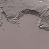 Mangala Fossae in 3-D