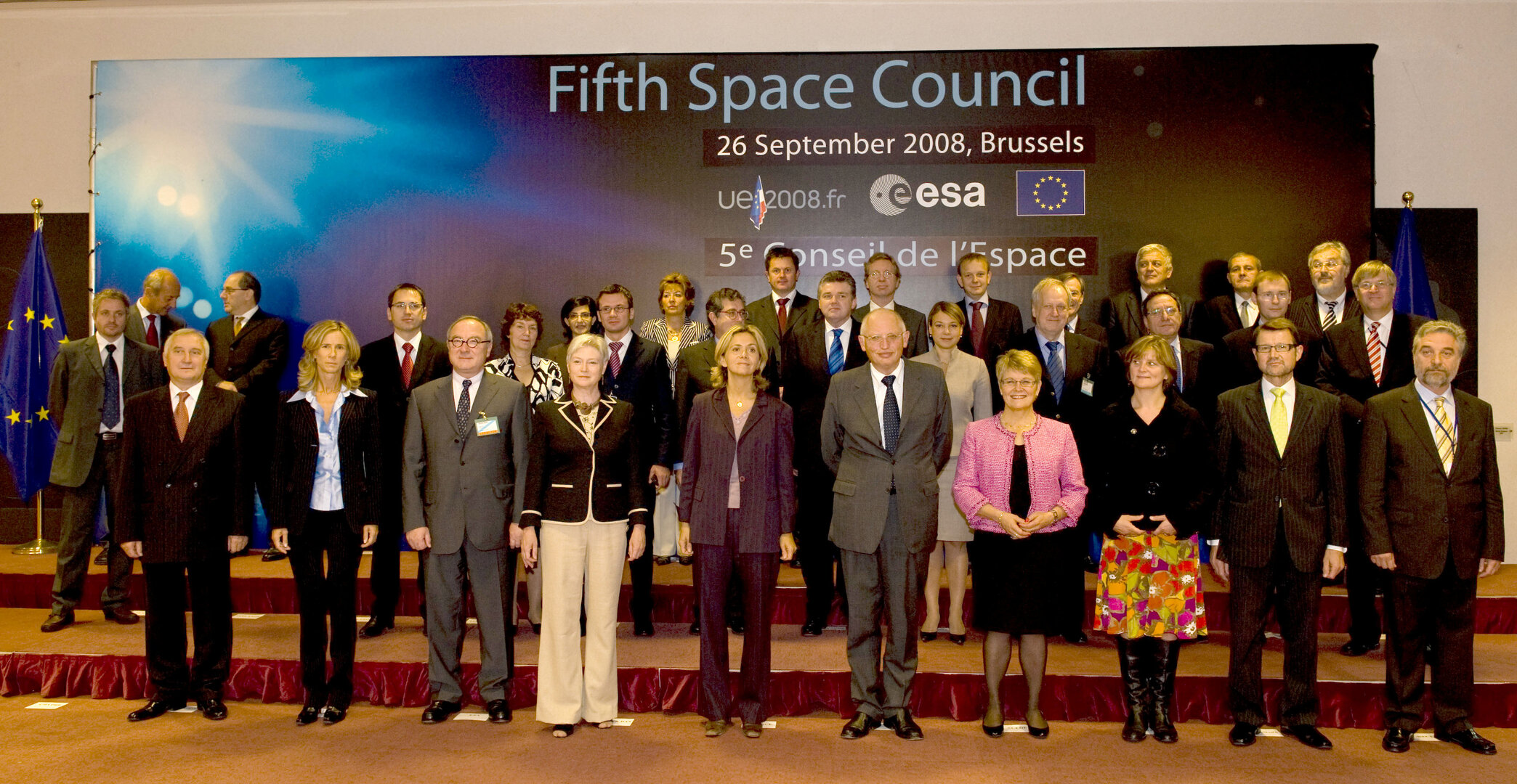 Ministers met in Brussels for the fifth Space Council
