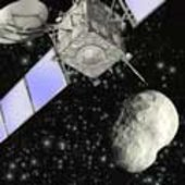 Rosetta: rendezvous with an asteroid
