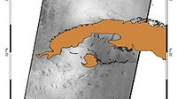 Sea surface roughness map over Cuba