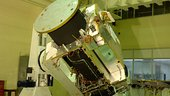 The Chandrayaan-1 spacecraft during integration