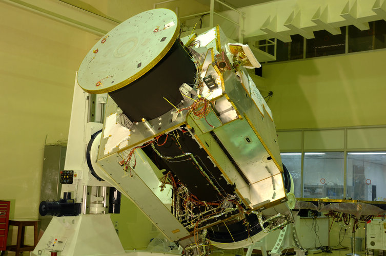 The Chandrayaan-1 spacecraft
