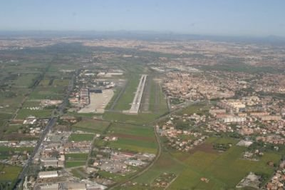 View of Ciampino airport