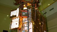 Readying Chandrayaan-1 spacecraft for Thermovac test