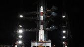 PSLV-C11 on Launch Pad