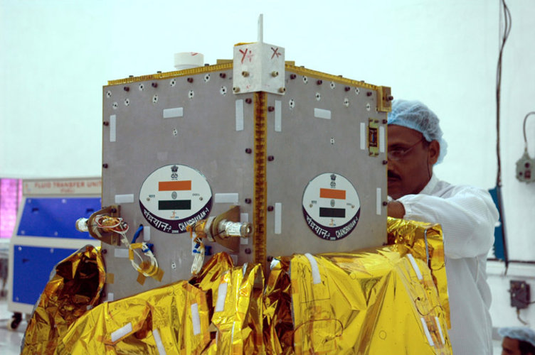 Chandrayaan-1's Moon Impact Probe