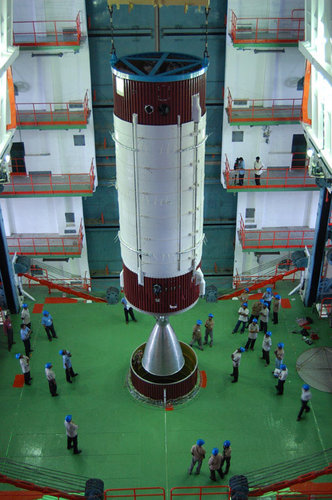 Chandrayaan-1 second stage