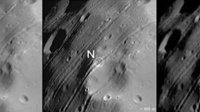 Details of Phobos' surface