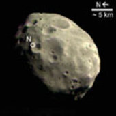 First HRSC colour image of Phobos