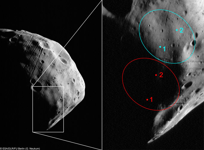 HRSC's zoom in on Phobos-Grunt landing site