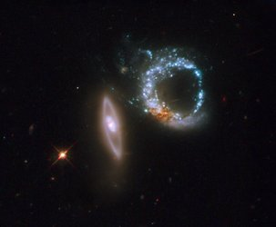 Interacting galaxies Arp 147