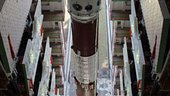 PSLV-C11 at Vehicle Assembly Building