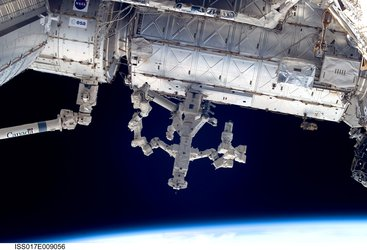 The Canadian-built Dextre, also known as the Special Purpose Dextrous Manipulator