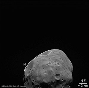 View of Phobos