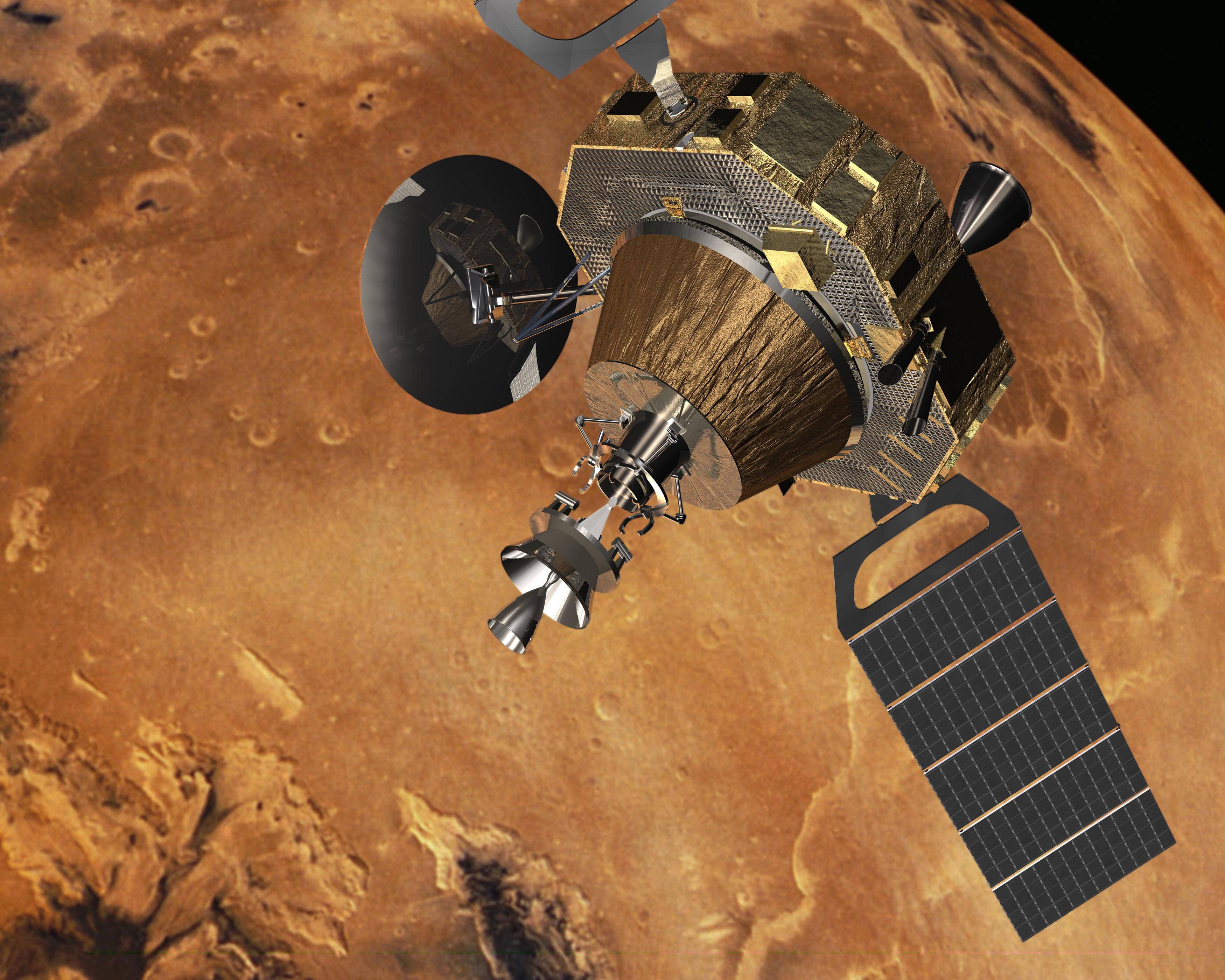 current mars missions - HD3500×2800