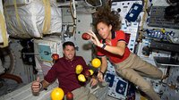 Fresh fruit delivery for ISS