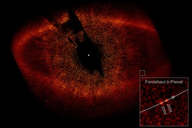 Fomalhaut b and its parent star