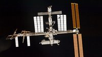 ISS view from STS-126