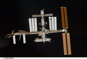 Local students work heading to International Space Station