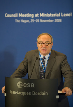 Jean-Jacques Dordain, ESA Director General