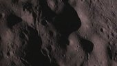 Raw image of the lunar surface