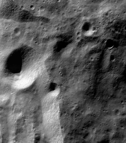 The lunar surface, as seen by Chandrayaan-1