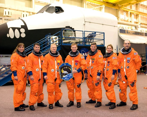 The STS-126 crew