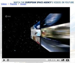 Watch ESA's videos on YouTube