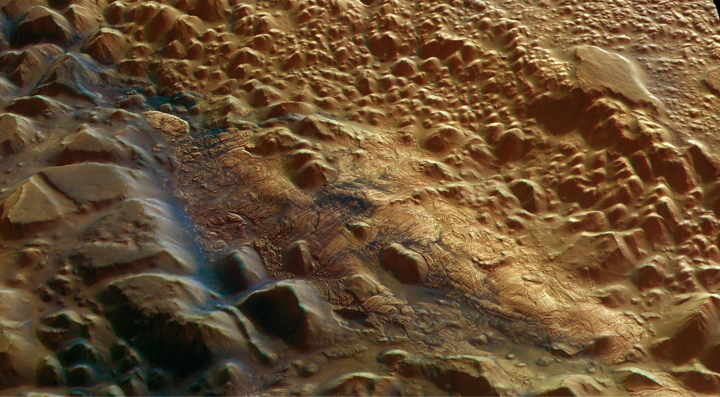 mars surface description - HD2500×1378