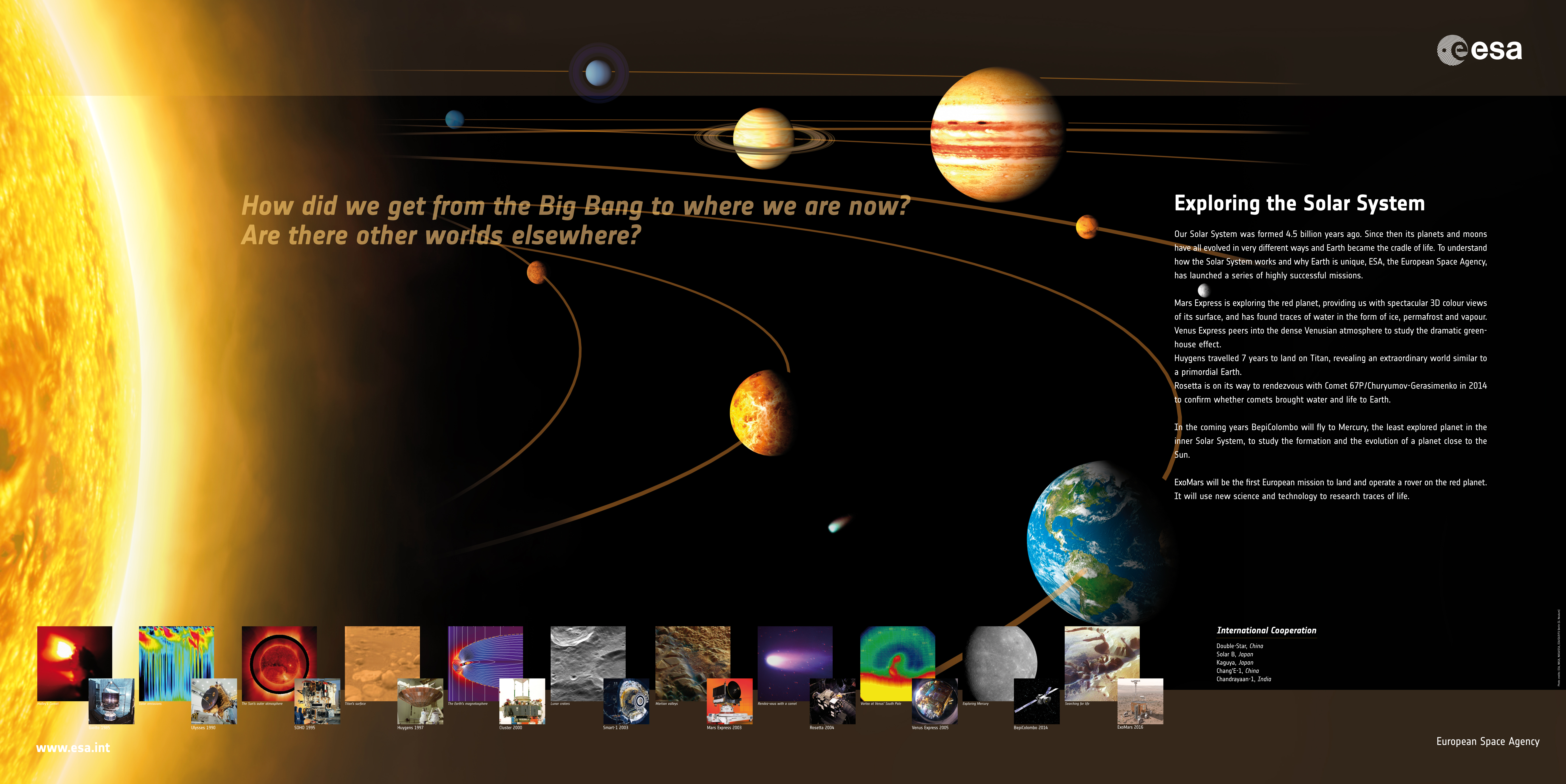 exploring our solar system essay The solar system is the sun and all the objects that orbit around it as our knowledge of space has grown  discovery and exploration for thousands of.