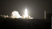 Ariane 5 ECA V187 lifts off