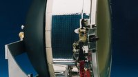 ESA-funded GORID space debris detector, 1996
