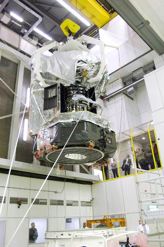 Herschel is moved to the Large Space Simulator