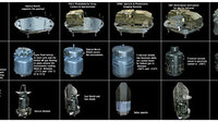Herschel's main spacecraft components