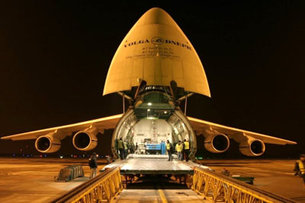 Planck loaded onto Antonov plane