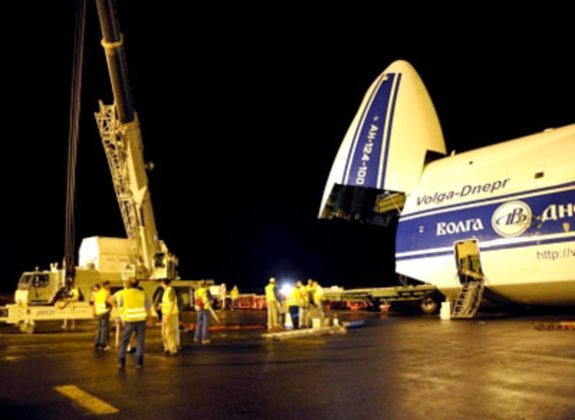 Planck prepared for transportation to launch site