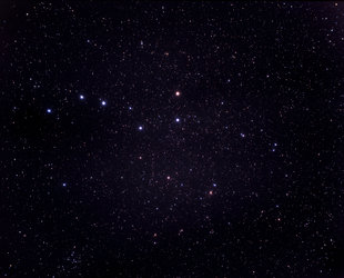 Ursa Major and Coma Berenices, wide-field view