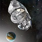 Artist concept of the Herschel spacecraft