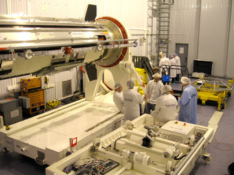 Cleanroom gets busier