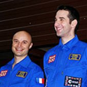 Fournier and Knickel ready to enter Mars500 facility